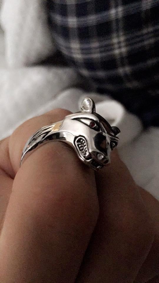 lu hound ring